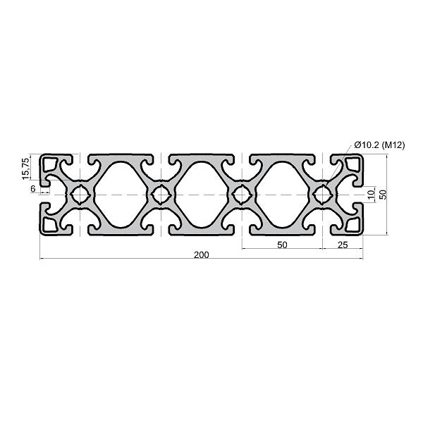 H950N520_aluminium_profil_50x200_ nut_10_600x600