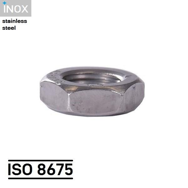 ISO 8675_EDELSTAHL_SECHSKANTMUTTER_HEXAGON_NUT