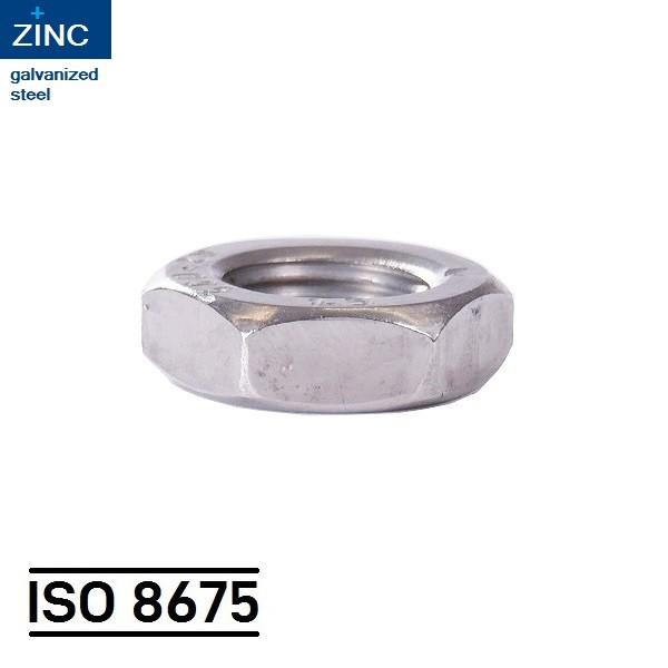 ISO 8675_STAHL_VERZINKT_SECHSKANTMUTTER_HEXAGON_NUT